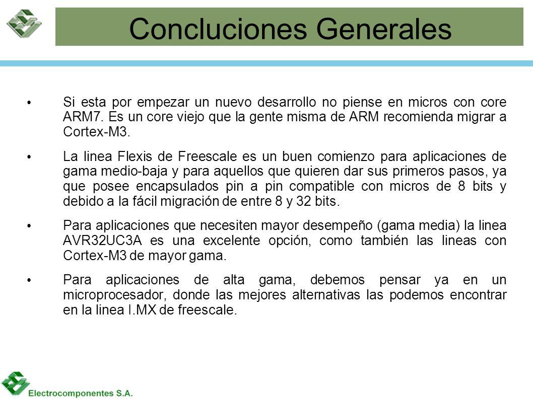 Concluciones Generales