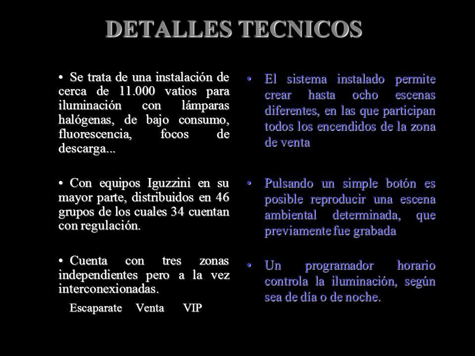 DETALLES TECNICOS