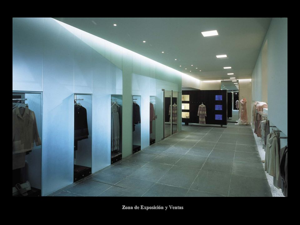 Zona de Exposición y Ventas