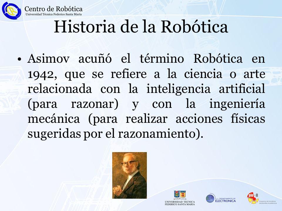 Historia de la Robótica