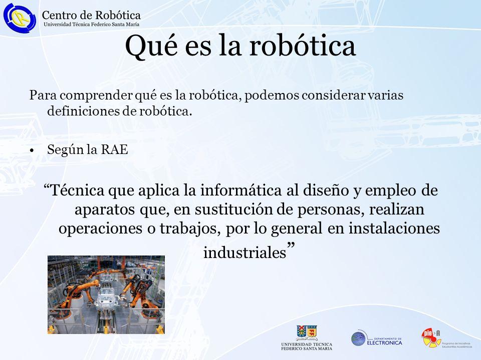 Qué es la robóticaPara comprender qué es la robótica, podemos considerar varias definiciones de robótica.