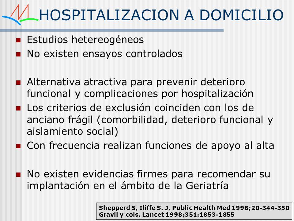 HOSPITALIZACION A DOMICILIO