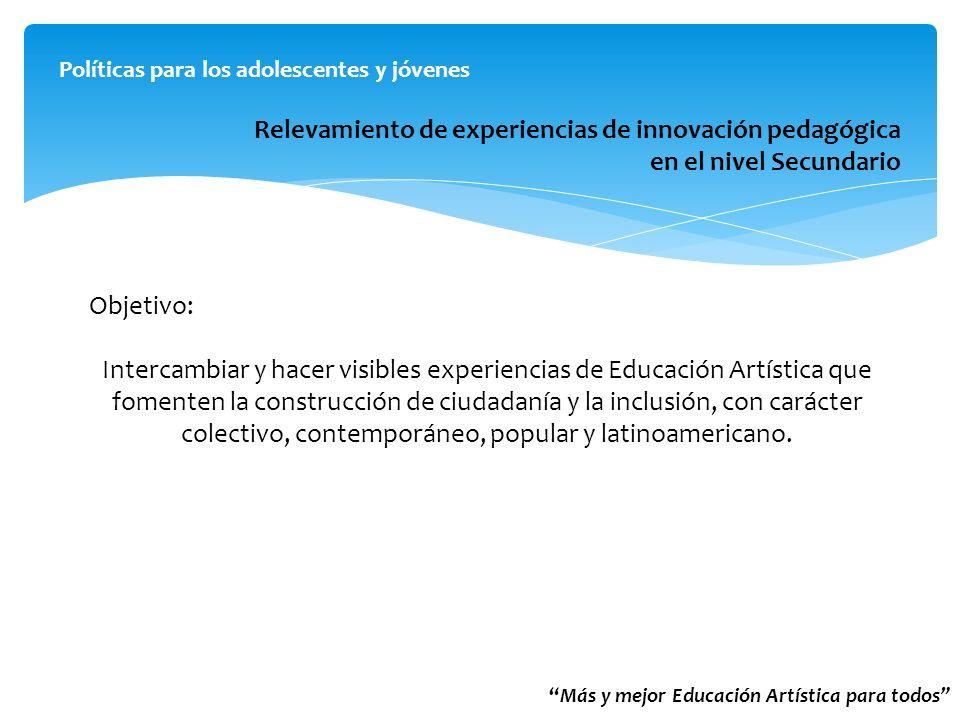 Relevamiento de experiencias de innovación pedagógica
