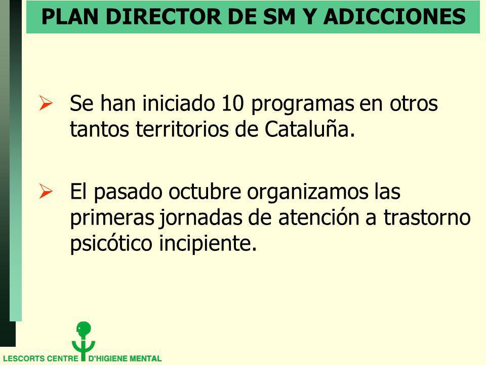 PLAN DIRECTOR DE SM Y ADICCIONES