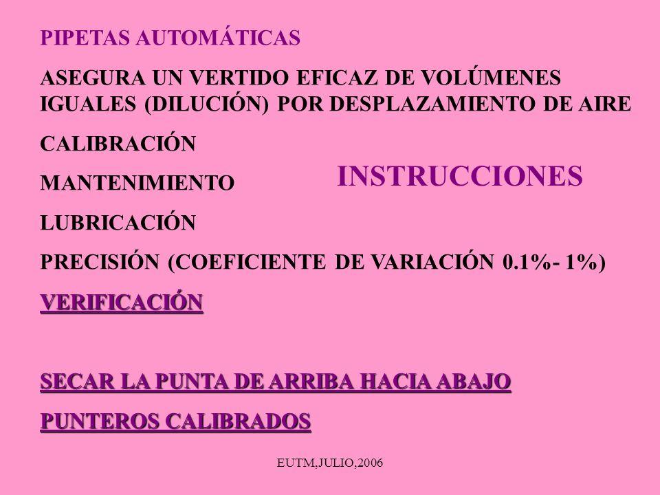 INSTRUCCIONES PIPETAS AUTOMÁTICAS