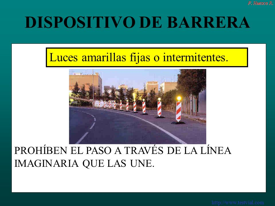DISPOSITIVO DE BARRERA