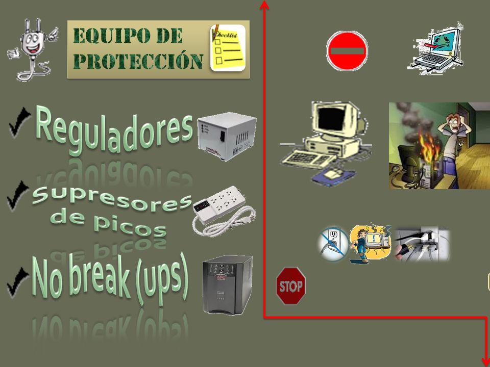 Reguladores Supresores de picos No break (ups)
