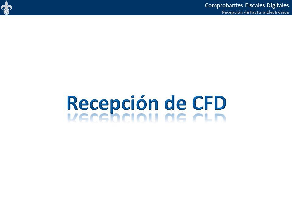 Recepción de CFD