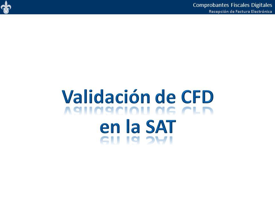 Validación de CFD en la SAT