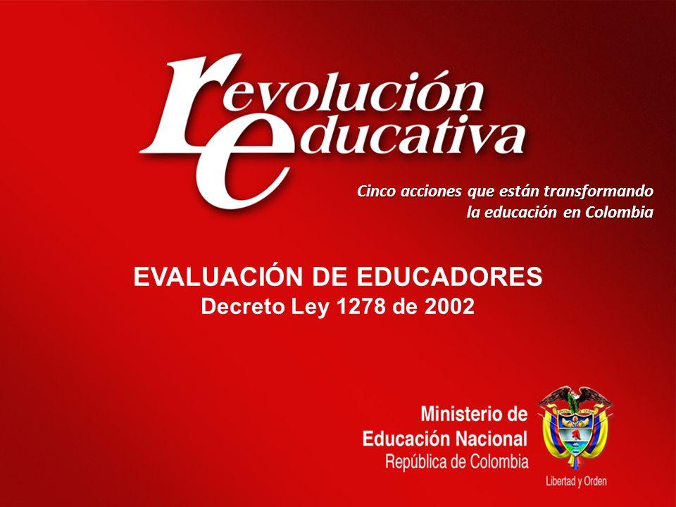 EVALUACIÓN DE EDUCADORES