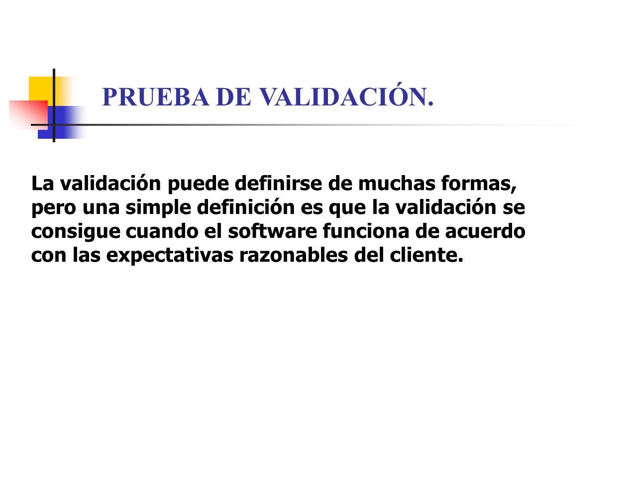 PRUEBA DE VALIDACIÓN.