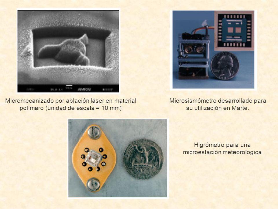 Microsismómetro desarrollado para su utilización en Marte.
