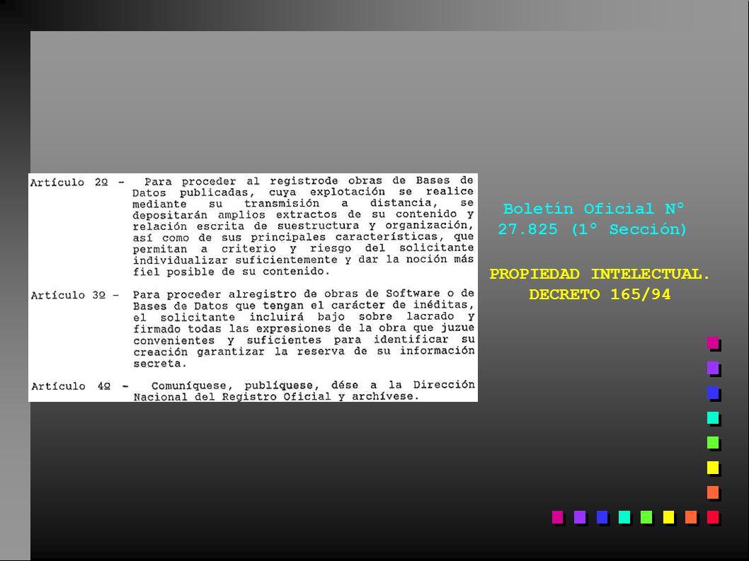 Boletín Oficial Nº 27.825 (1º Sección)