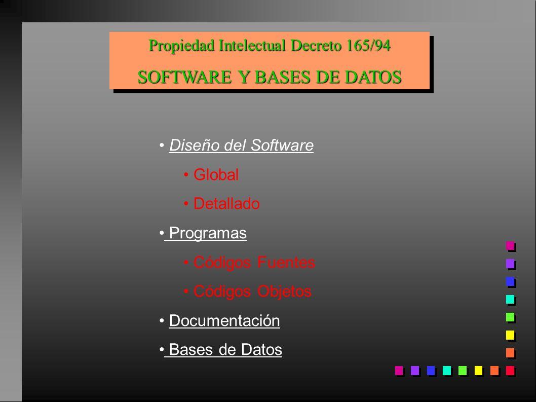 SOFTWARE Y BASES DE DATOS