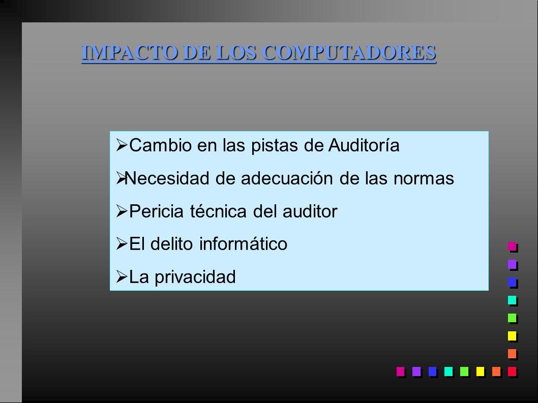 IMPACTO DE LOS COMPUTADORES