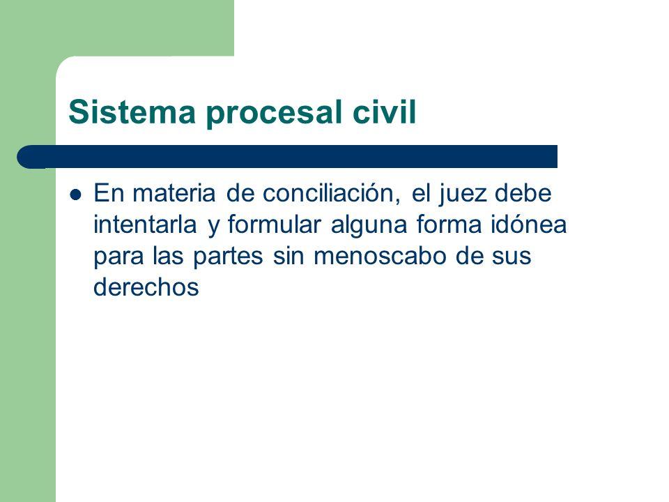 Sistema procesal civil