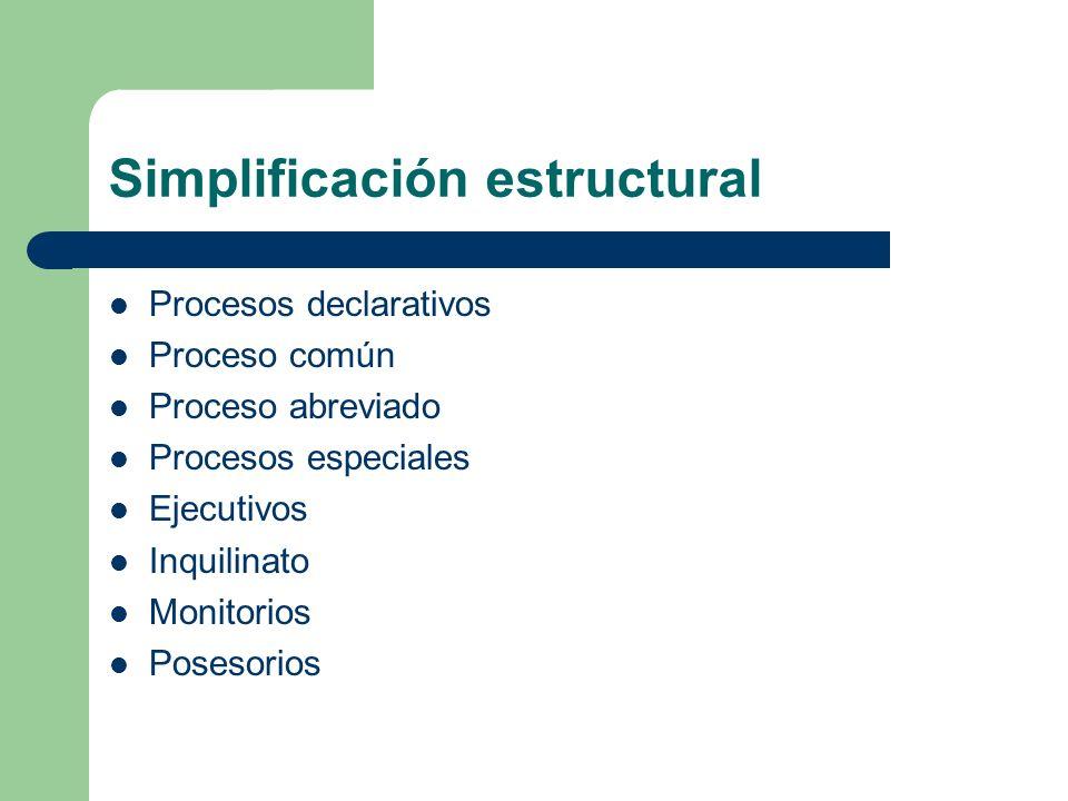 Simplificación estructural