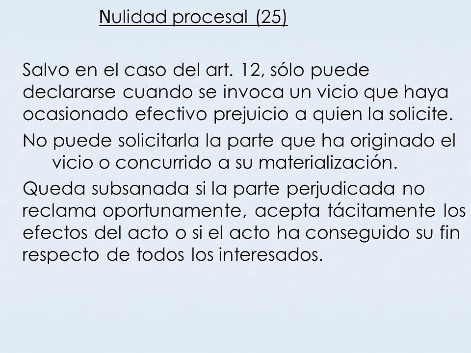 Nulidad procesal (25)