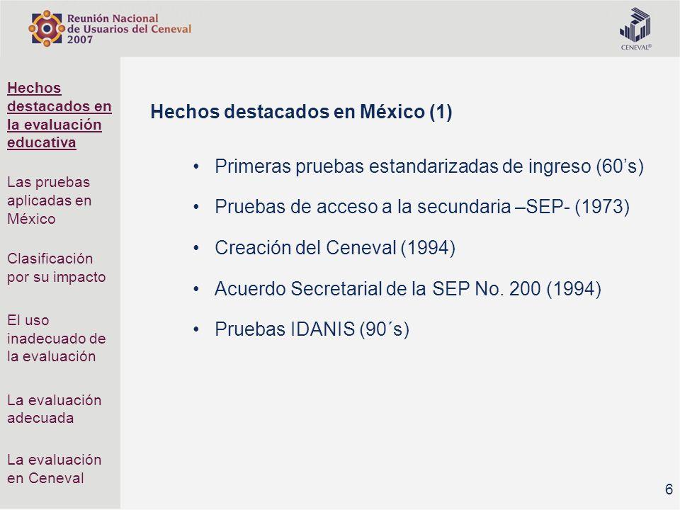 Hechos destacados en México (1)