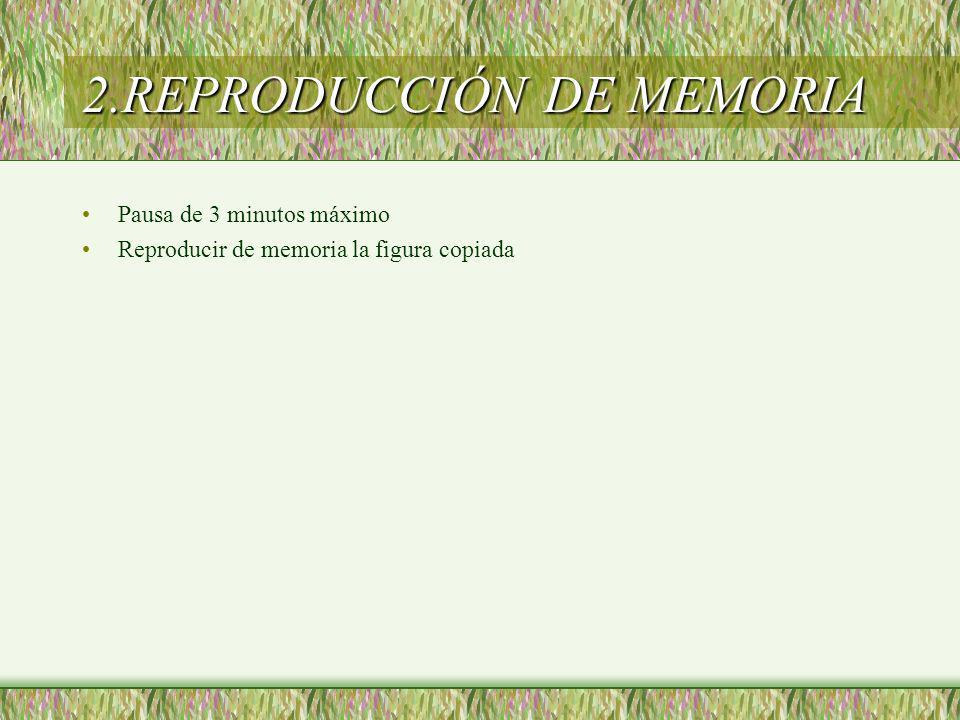 2.REPRODUCCIÓN DE MEMORIA