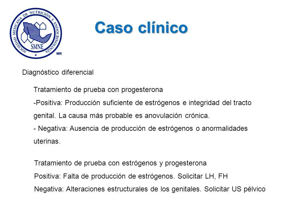 Caso clínico Diagnóstico diferencial