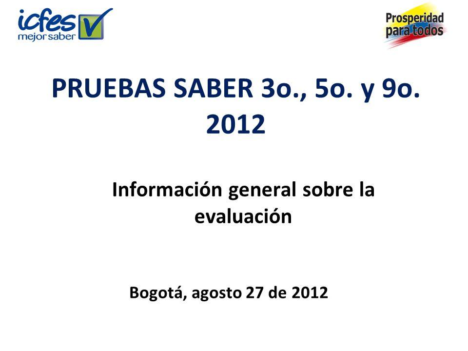 Información general sobre la evaluación