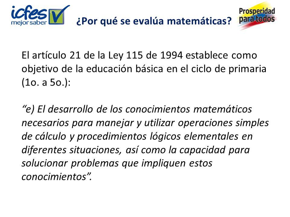 ¿Por qué se evalúa matemáticas