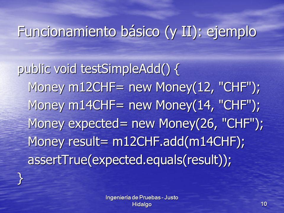 Funcionamiento básico (y II): ejemplo