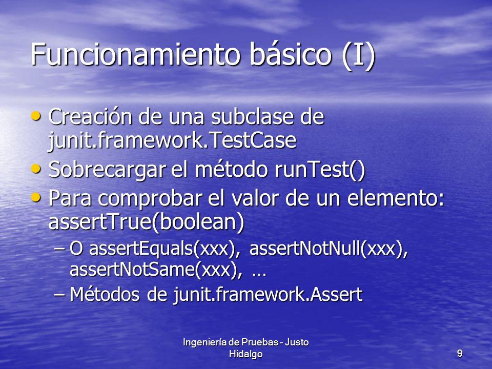 Funcionamiento básico (I)