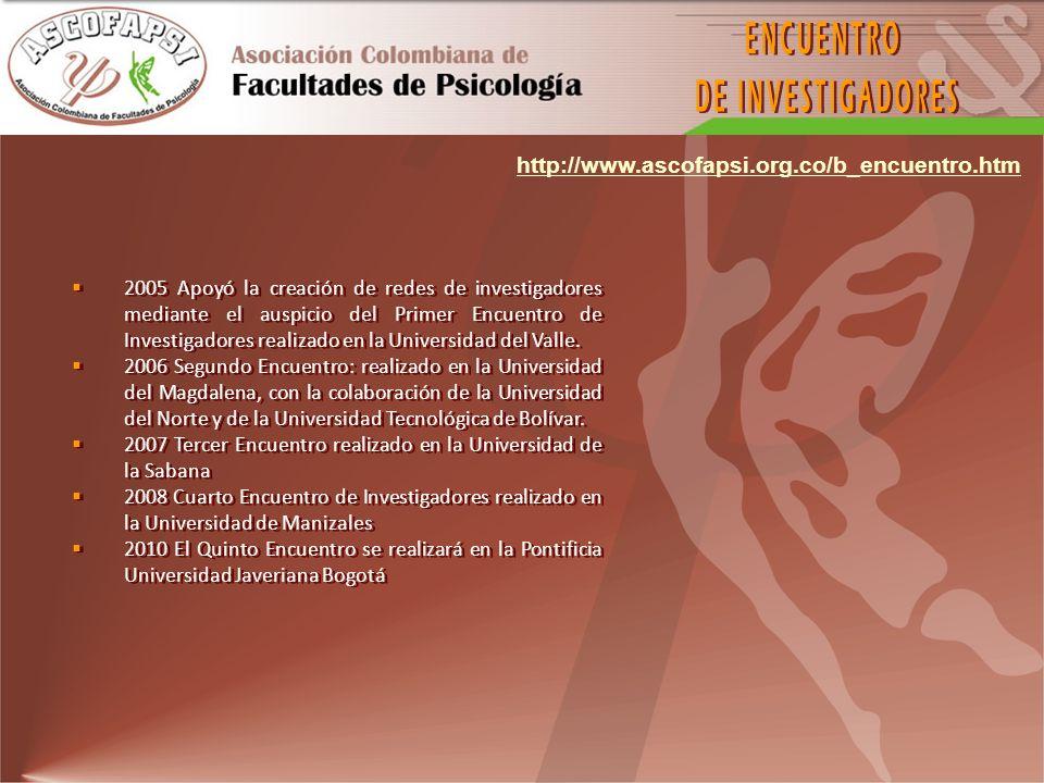 ENCUENTRO DE INVESTIGADORES