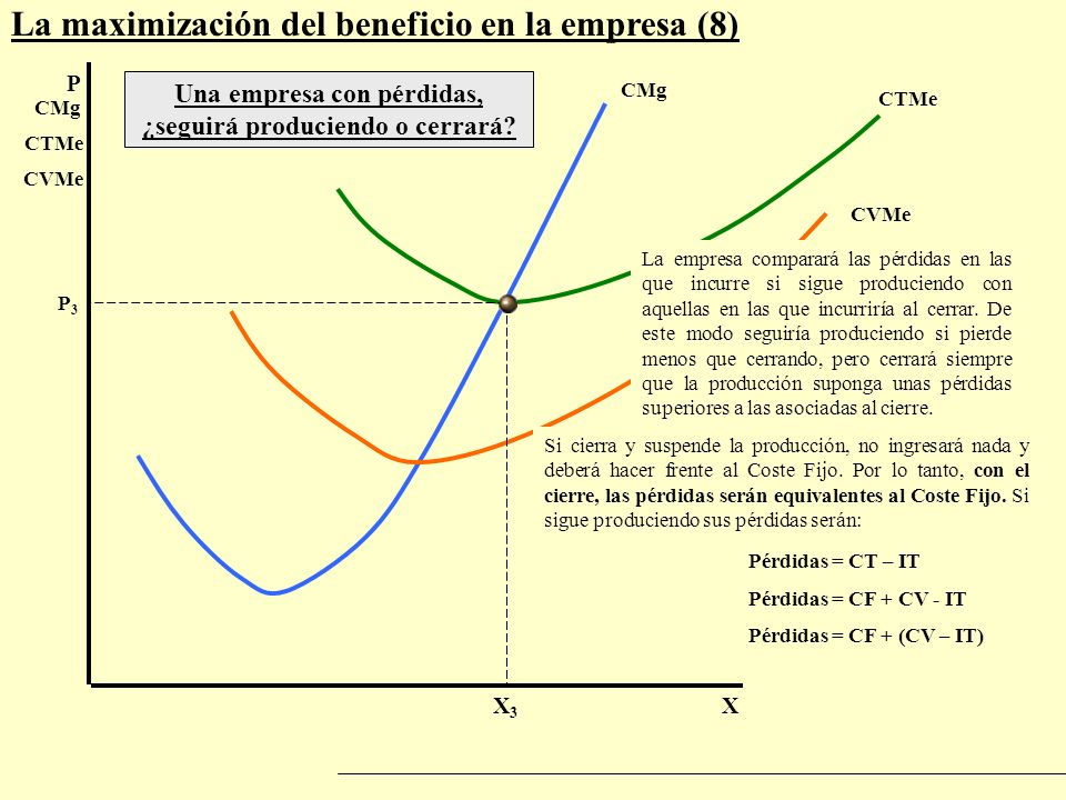 Tema 4 / epígrafe 4.3.3- La maximización del beneficio de la empresa