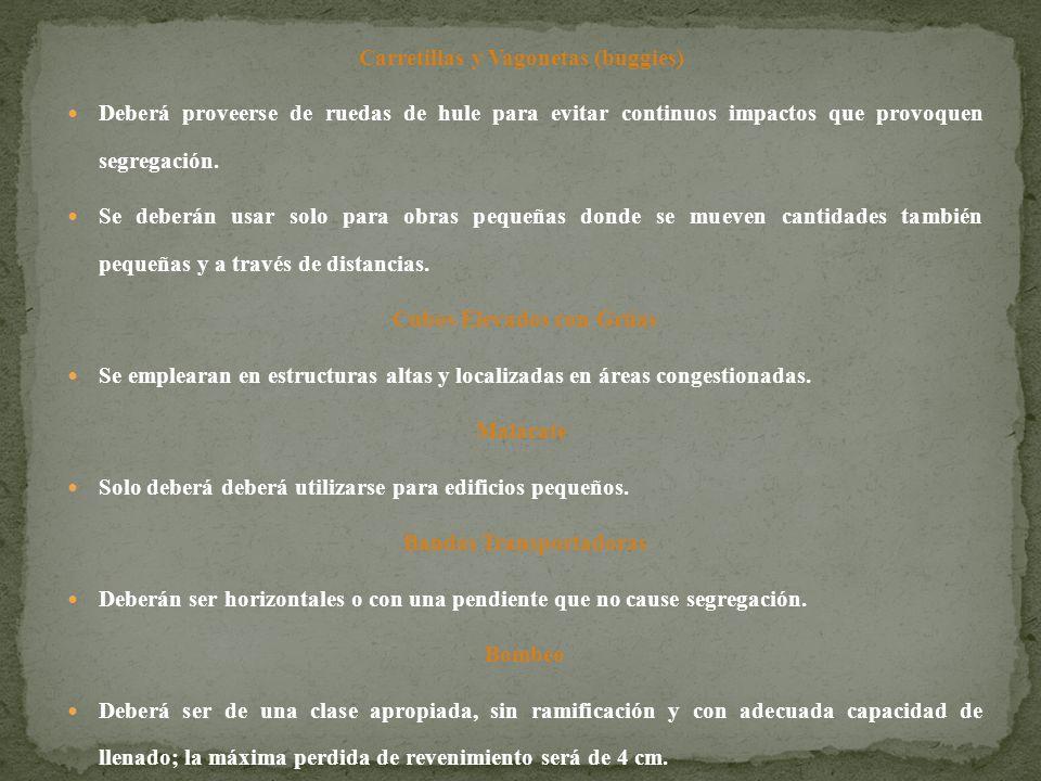Carretillas y Vagonetas (buggies)