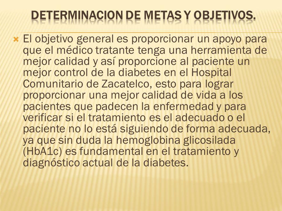 DETERMINACION DE METAS Y OBJETIVOS.