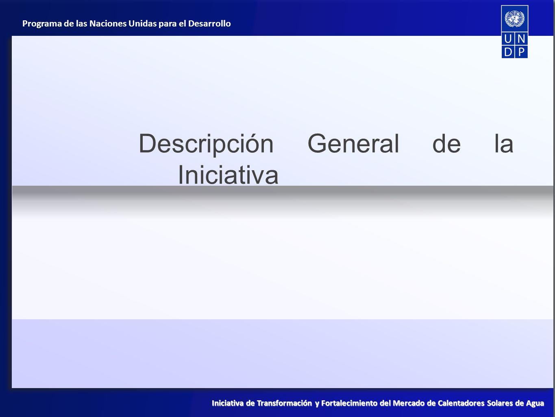 Descripción General de la Iniciativa