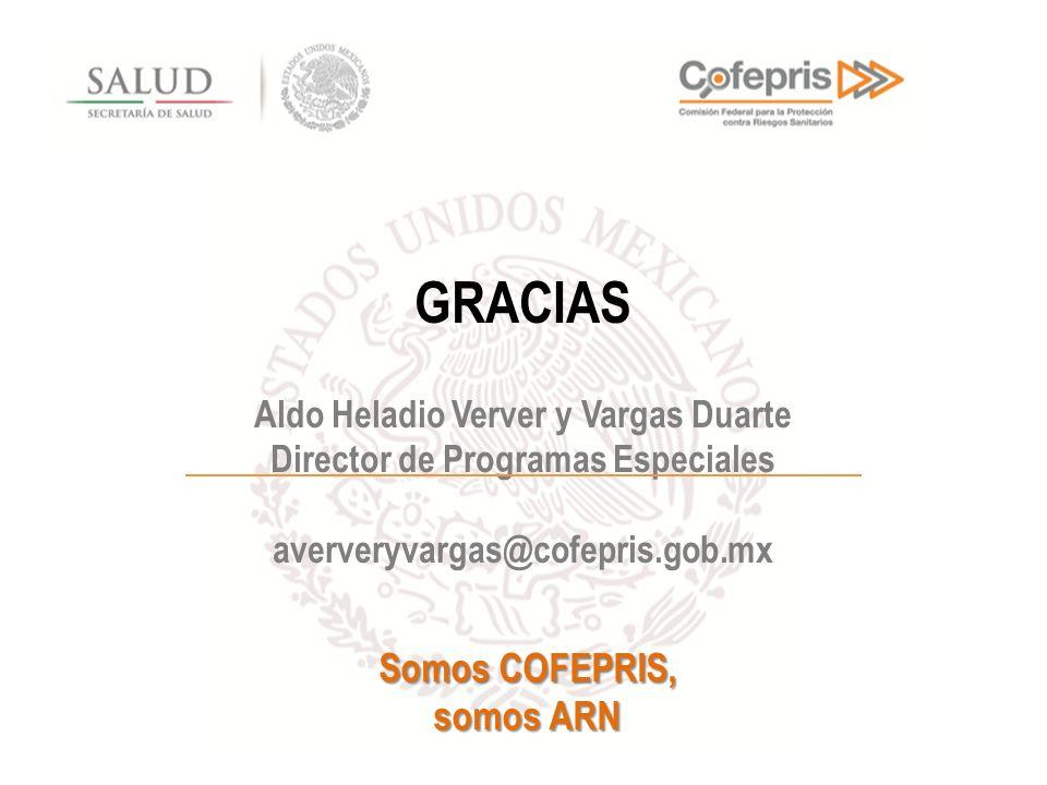 Aldo Heladio Verver y Vargas Duarte Director de Programas Especiales