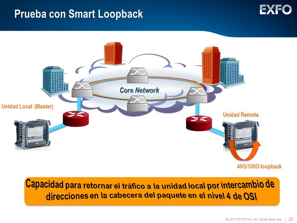 Prueba con Smart Loopback