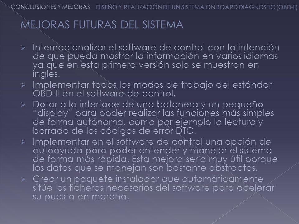 MEJORAS FUTURAS DEL SISTEMA