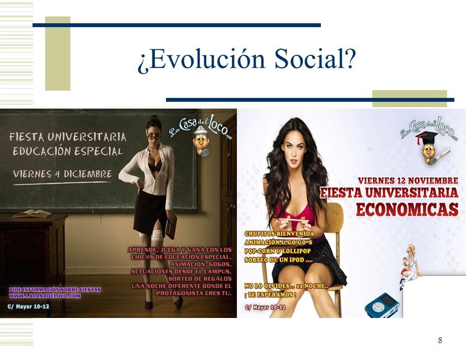 ¿Evolución Social
