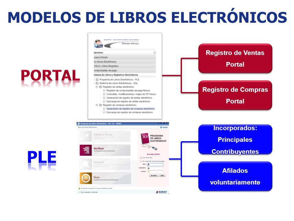 MODELOS DE LIBROS ELECTRÓNICOS