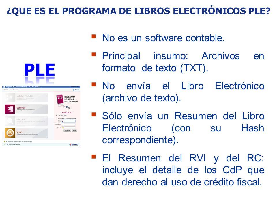 ¿Que es el Programa de Libros Electrónicos PLE