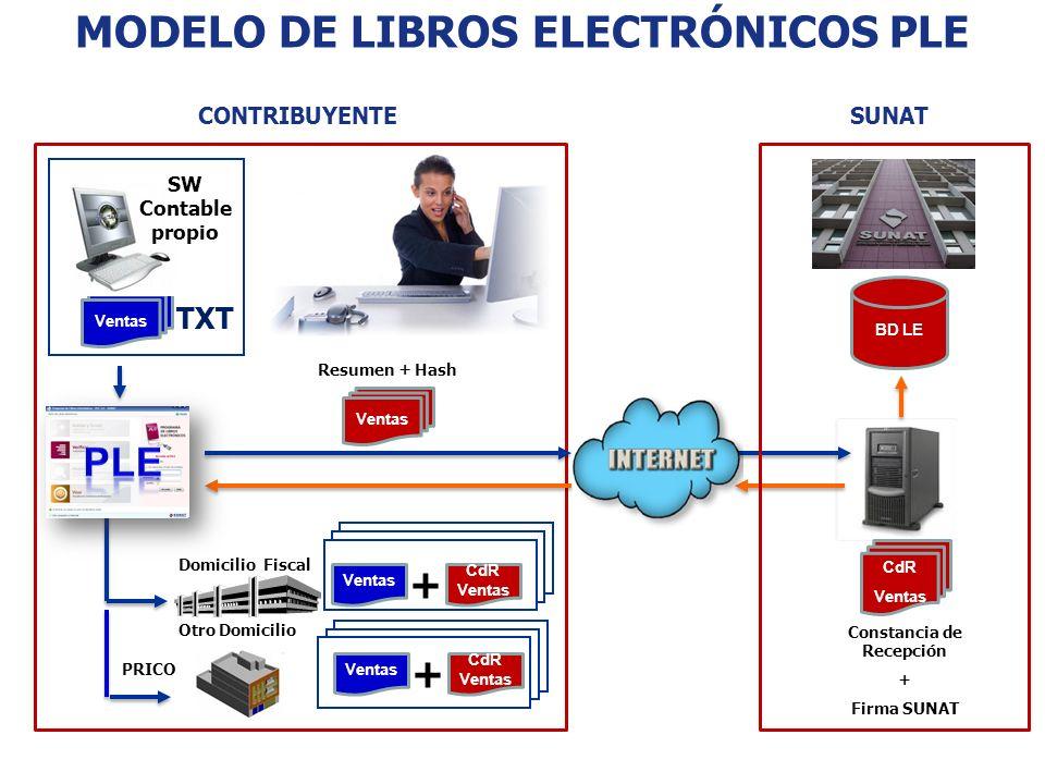 MODELO DE LIBROS ELECTRÓNICOS PLE