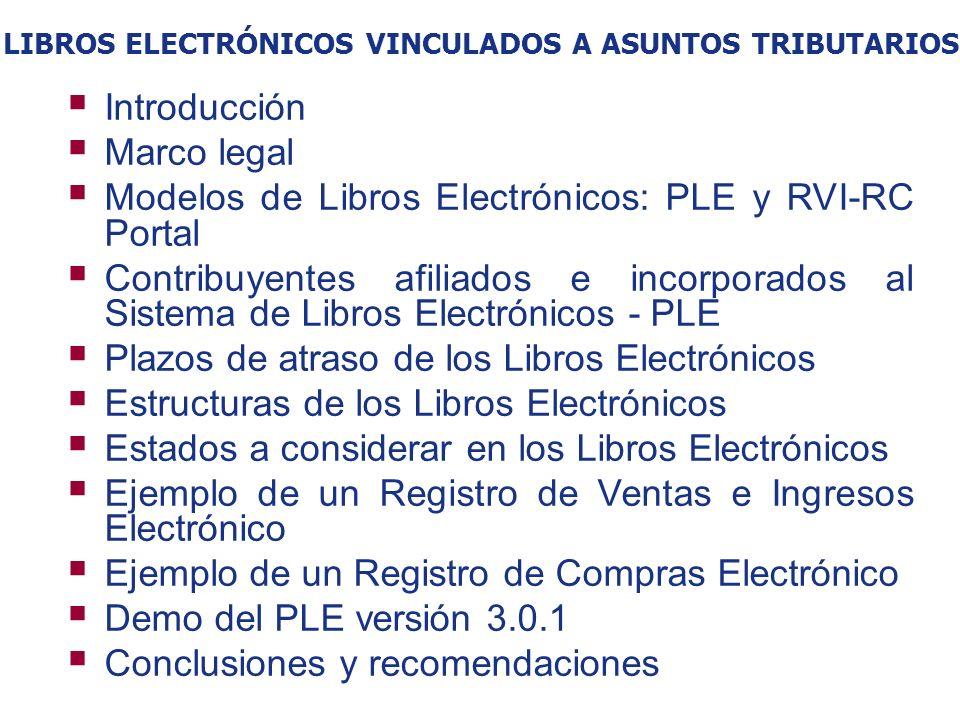 Libros Electrónicos vinculados a asuntos tributarios