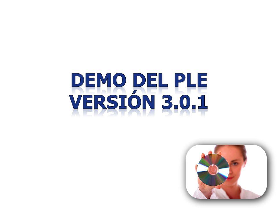 Demo del ple versión 3.0.1 41