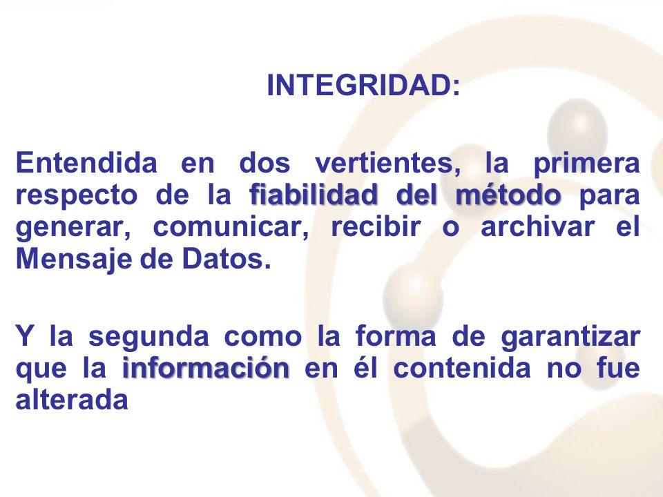 INTEGRIDAD: