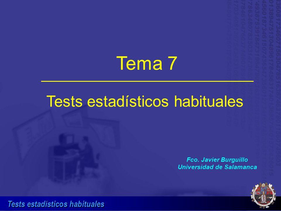 Fco. Javier Burguillo Universidad de Salamanca