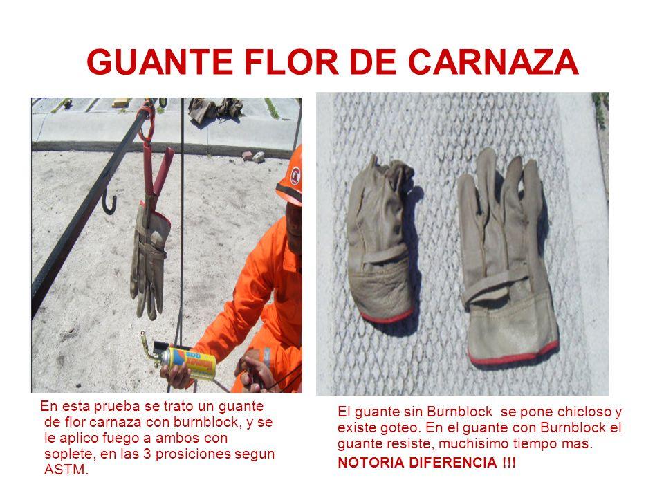 GUANTE FLOR DE CARNAZA