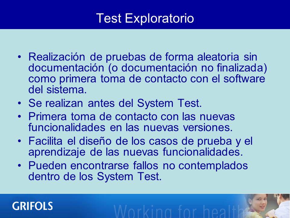 Test Exploratorio