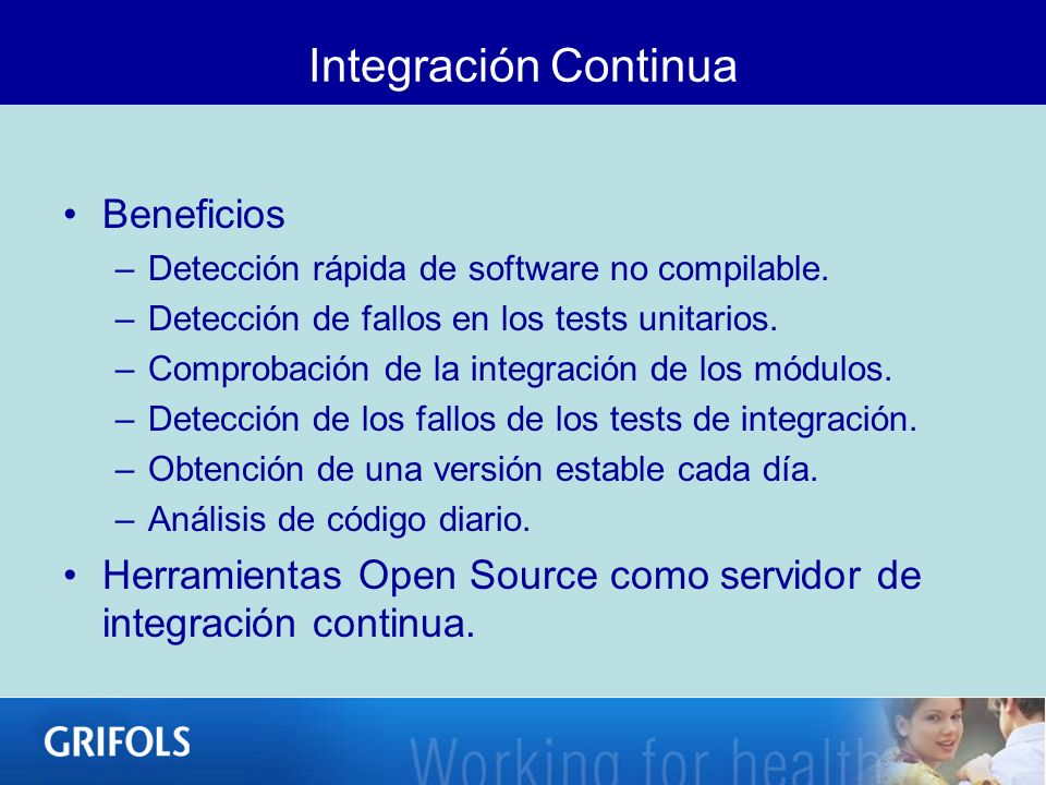 Integración Continua Beneficios