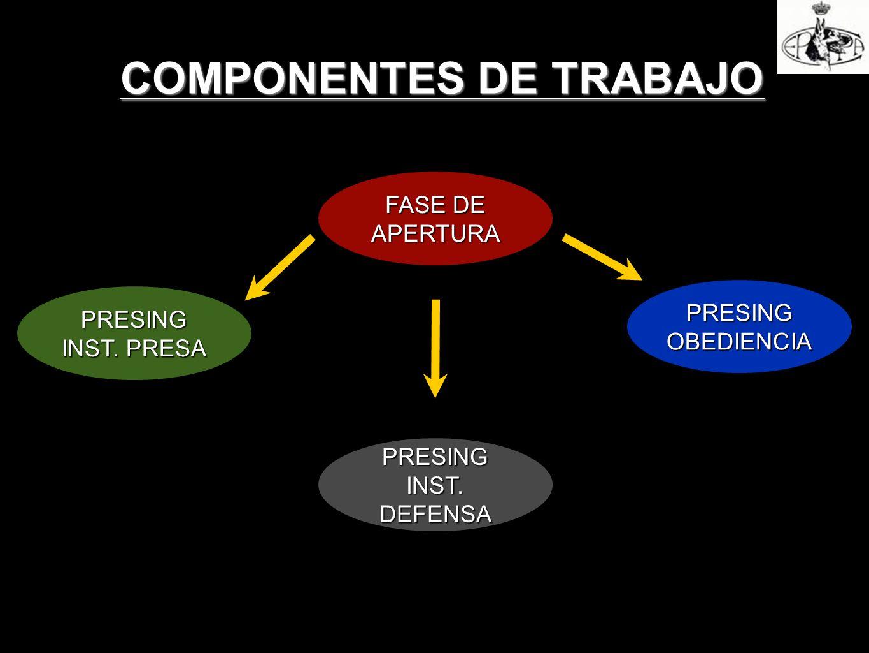 COMPONENTES DE TRABAJO