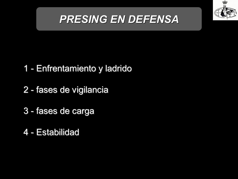 PRESING EN DEFENSA 1 - Enfrentamiento y ladrido